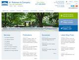 M. Robinson Website